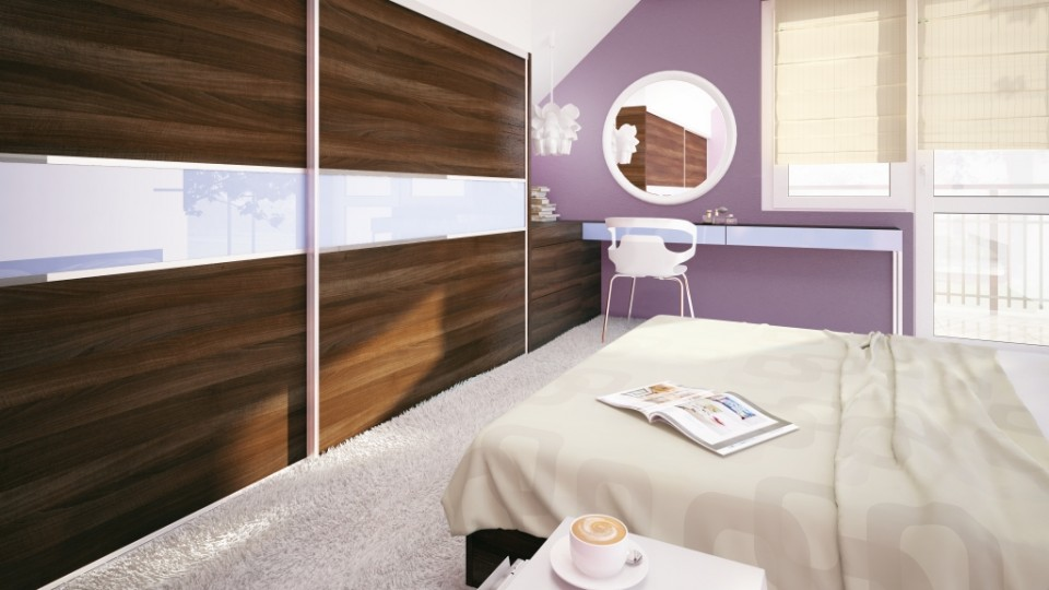 2w1 - biuro i sypialnia