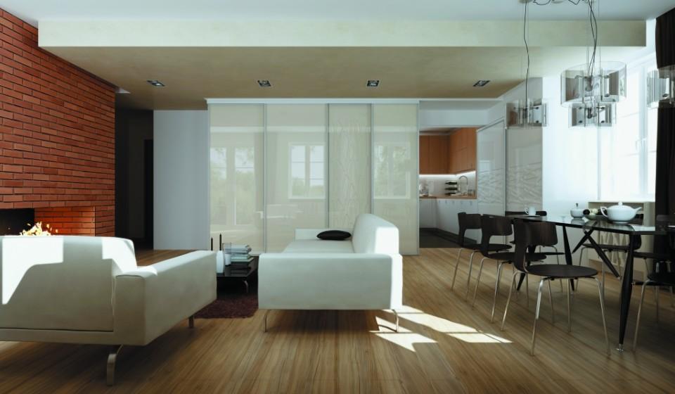 jak oddzielić kuchnię od salonu na styl nowoczesny