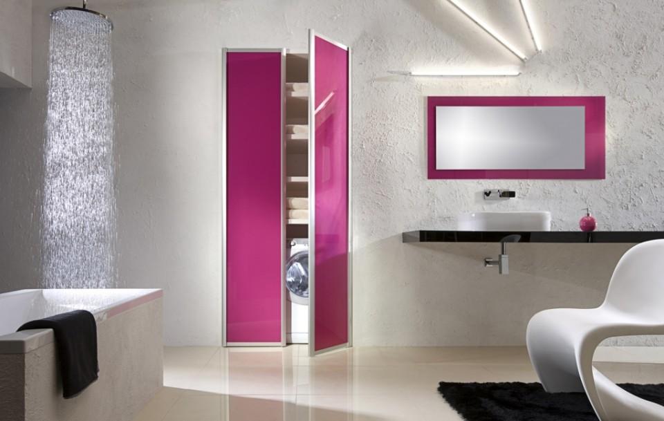 jak urządzić łazienkę z pralka