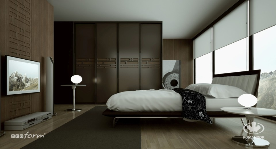 meble pod telewizor do sypialni