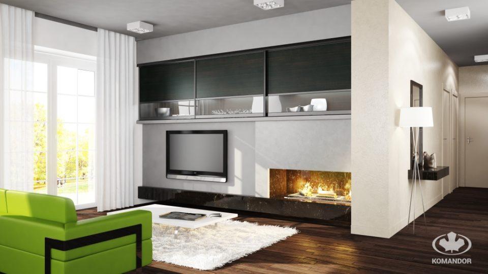 jak urządzić nowoczesny salon w bloku meble na wymiar