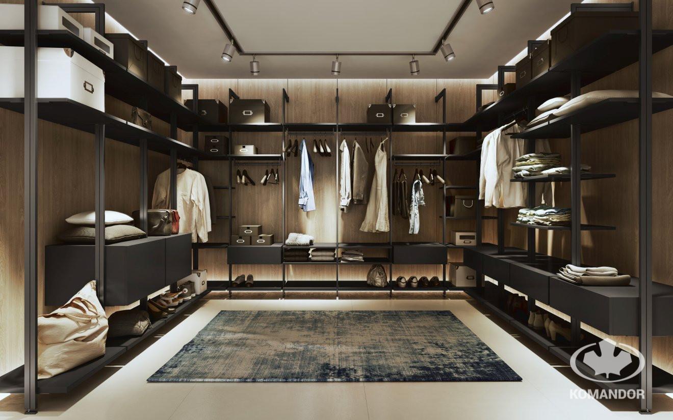 Garderoba Orto Komandor - jak powinna wyglądac nowoczesna garderoba