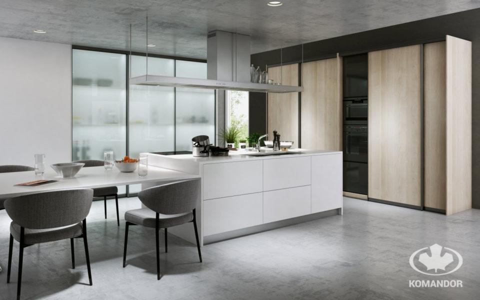 Szafa na wymiar w kuchni to sposób na szybką i ciekawą metamorfozę