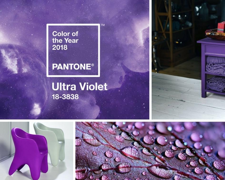 Kolor roku 2018 - niebanalny Ultra Vilet