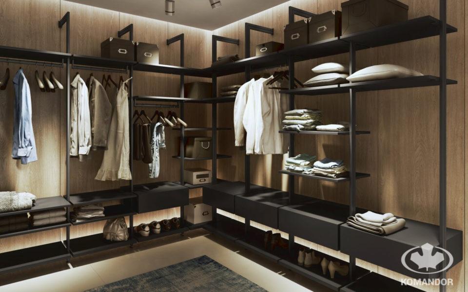 garderoba czy szafa wnękowa zawsze powinny być odpowienio zaplanowane