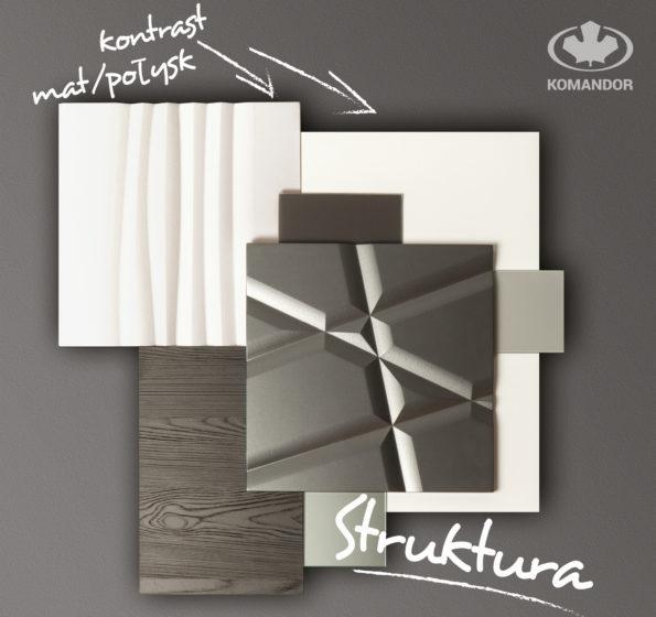 styl minimalistyczny we wnętrzach - materiały dla stylu wyrafinowany minimalizm Komandor