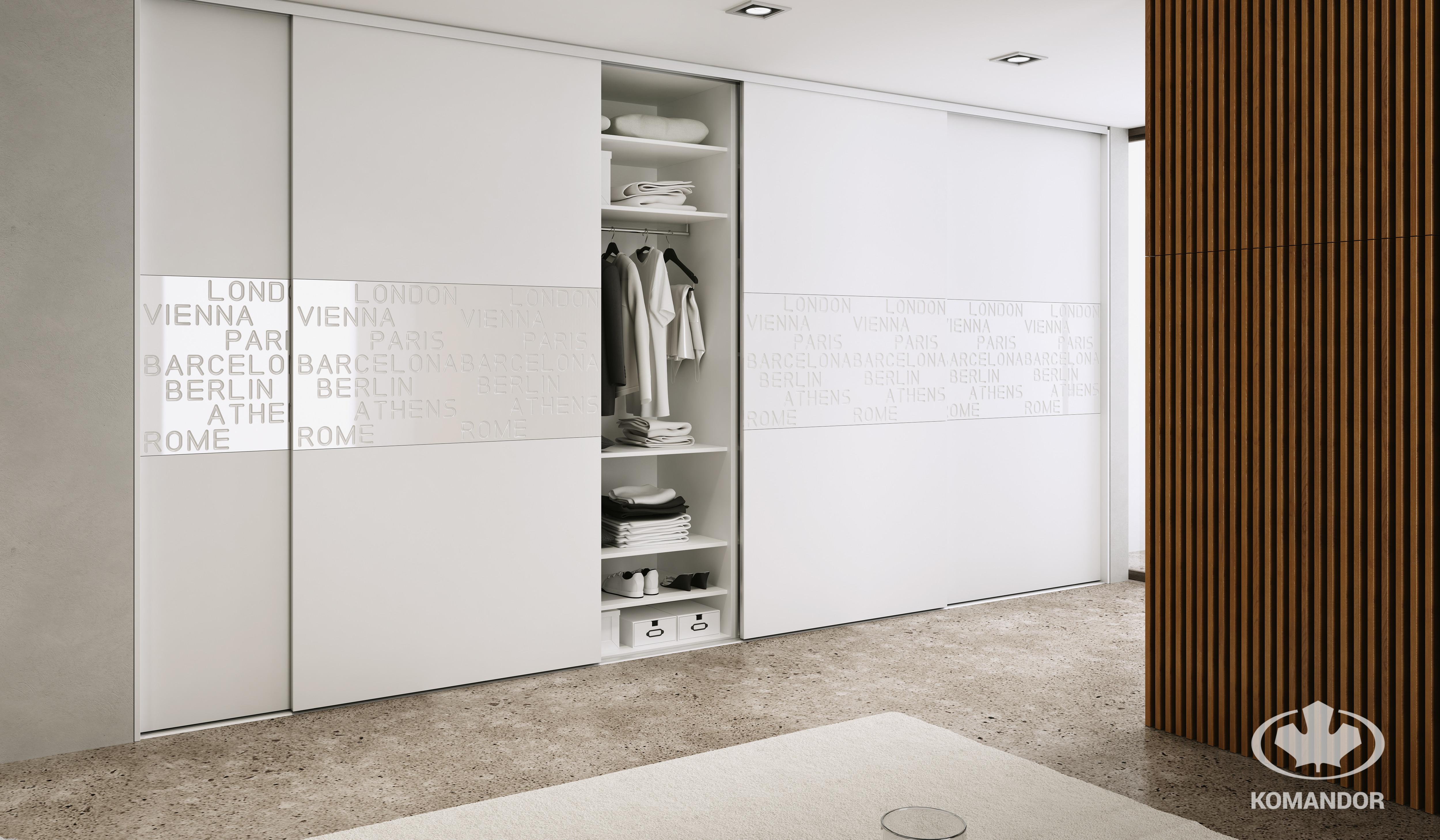 Szafa w stylu minimalistycznym i trend wyrafinowany minimalizm
