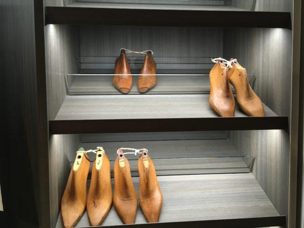 Targi wnętrz Mediolan 2018 i półki na buty