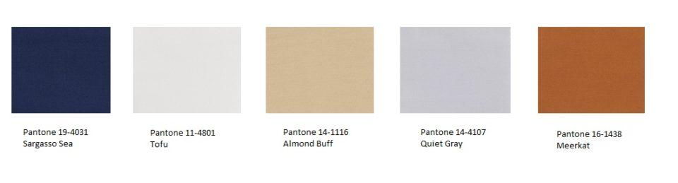 Paleta barw ziemi Pantone