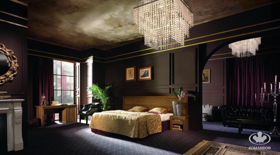 Pokój w stylu pałacowym z łóżkiem na wymiar