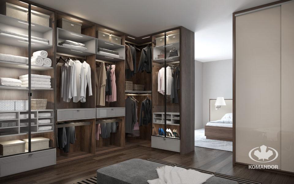 Przechowywanie tekstyliów w szafie