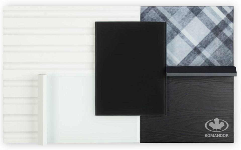 moodboard 2019 kolory czerni i bieli